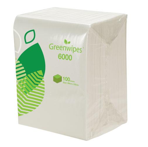 GW-6000 Greenwipes® Light Multi Purpose Wipes