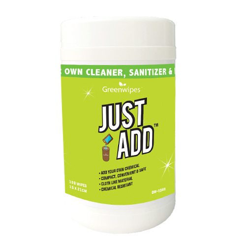 GW-9300 Greenwipes®JustAdd™ Wipes