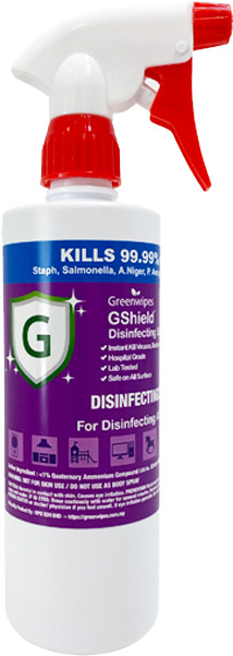 MD-7050-S GShield™ Non-Alcohol Disinfecting Spray